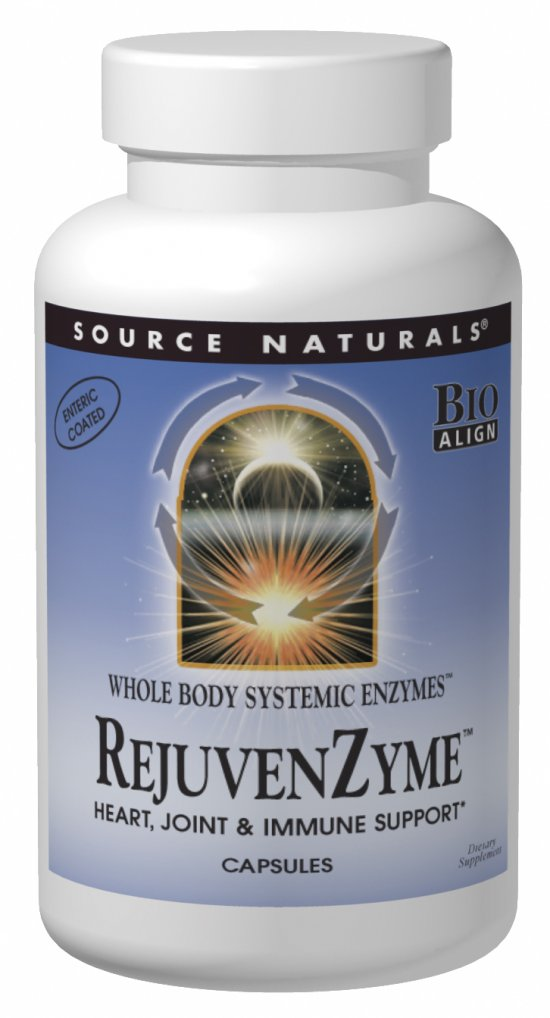Source Naturals Rejuvenzyme 486 Mg 500 Capsule 500 Capsule
